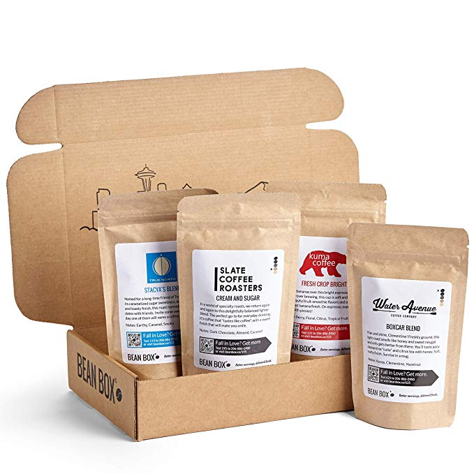 Coffee Bean Box    Mothers Day Gift Ideas