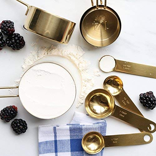Gold Kitchen Utensils   Mothers Day Gift Ideas