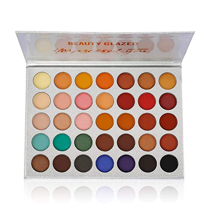 Beauty Glazed 35 Color Eyeshadow Palette 15 Top Rated Palettes on Amazon in 2020
