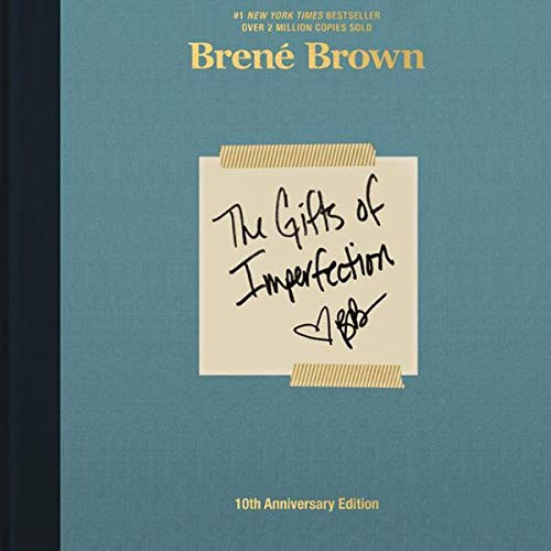 The Gifts of Imperfections by Brene Brown   50+ Inspirational Books for Women