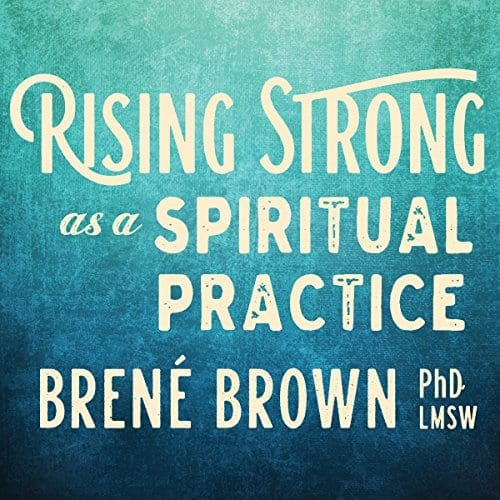 Rising Strong by Brene Brown   50+ Inspirational Books for Women
