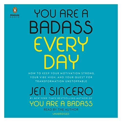 You Are a Badass Everyday by Jen Sincero   50+ Inspirational Books for Women