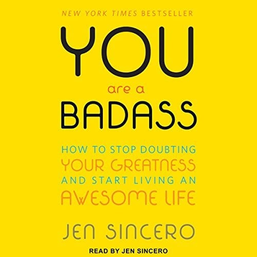 You Are A Badass by Jen Sincero   50+ Inspirational Books for Women