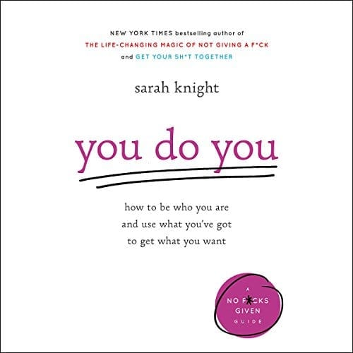 You Do You by Sarah Knight   50+ Inspirational Books for Women