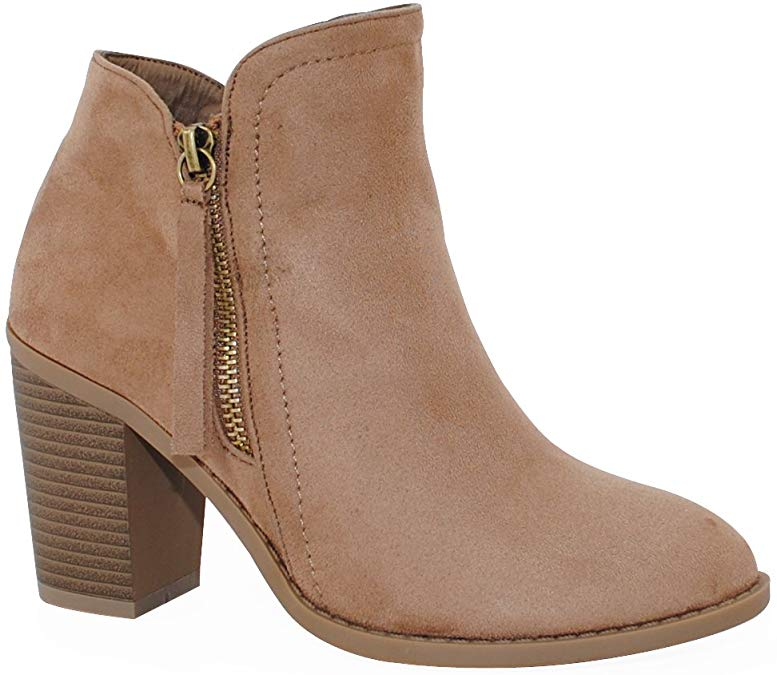 Fall Outfit Ideas - Suede Ankle Booties