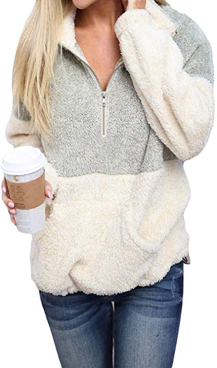 Sherpa Fleece Pullover   Fall Outfit Ideas: 30+ Must-Haves For Your Autumn Wardrobe