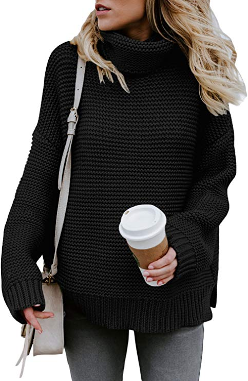 Turtleneck Waffle Knit Chunky Sweater    Fall Outfit Ideas: 30+ Must-Haves For Your Autumn Wardrobe