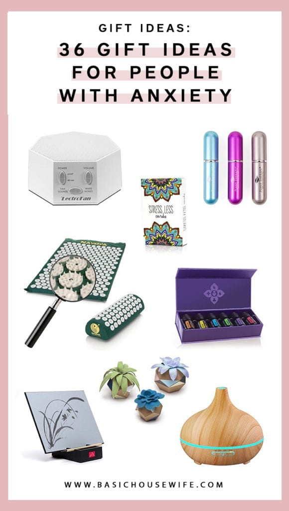 Gift ideas for people with anxiety