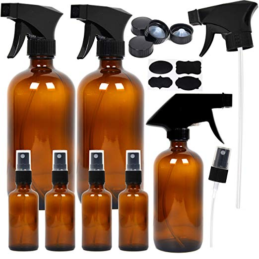 Amber Glass Spray Bottles for Essential Oils   The Ultimate Guide to Essential Oil Accessories
