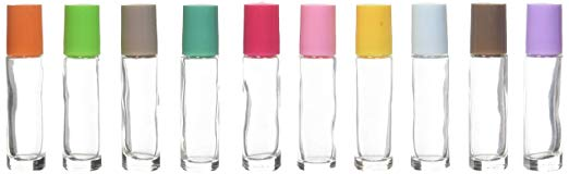 Multi-Colored Glass Roller Bottles   The Ultimate Guide to Essential Oil Accessories