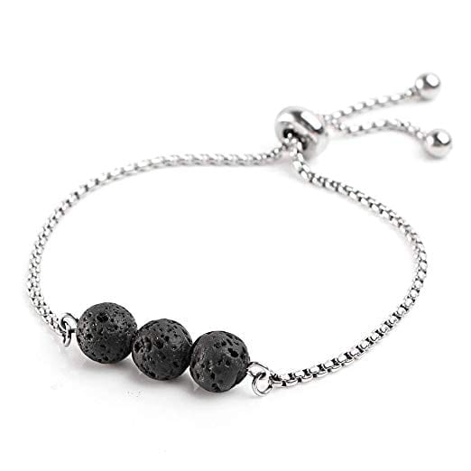 Adjustable Lava Stone Essential Oil Diffuser Bracelet   The Ultimate Guide to Essential Oil Accessories