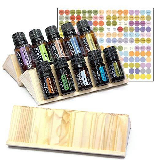 Wooden Essential Oil Display Rack   The Ultimate Guide to Essential Oil Accessories