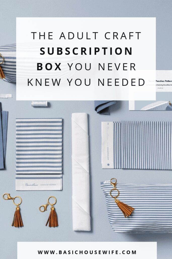 The Craft Subscription Box You Never Knew You Needed | The Basic Housewife
