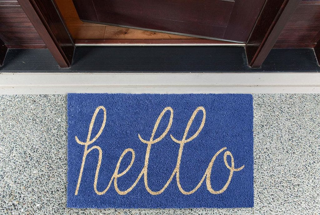 outdoor doormat for spring | Spring Decor Ideas for Your Home