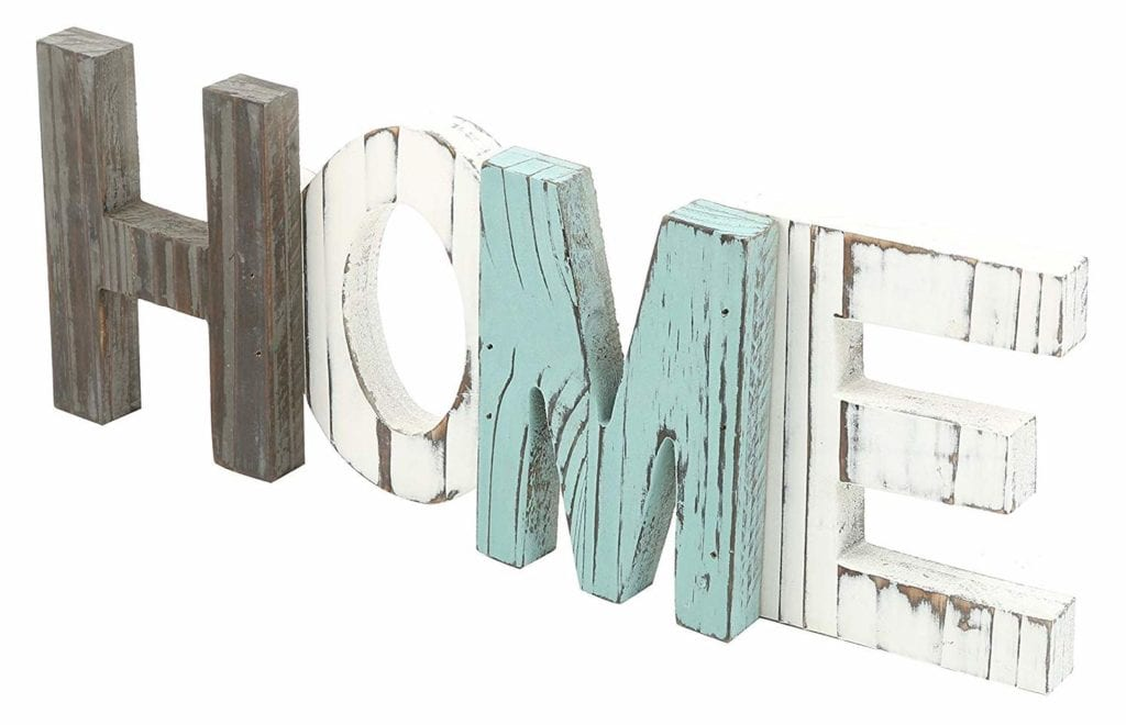 Wooden sign | Spring Decor Ideas for Your Home