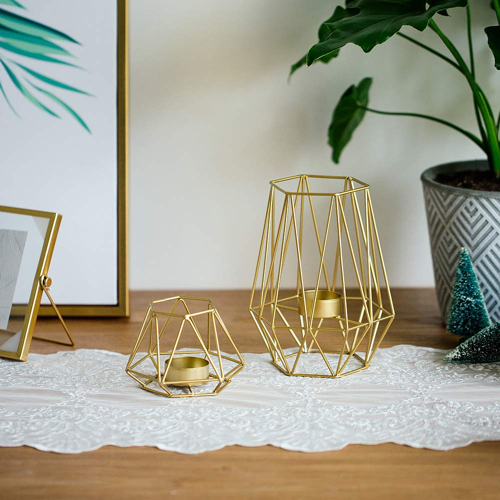 Gold votives for candles | Spring Decor Ideas for Your Home
