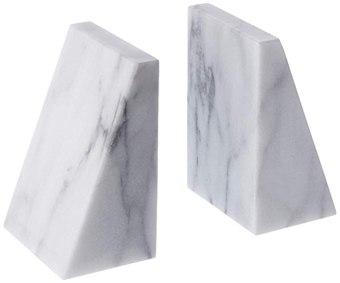 Marble Book Ends   Gifts for Book Lovers: The Ultimate Guide