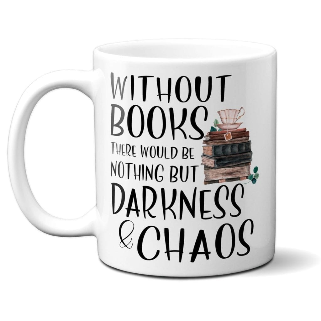 Bookish Coffee Mug   Gifts for Book Lovers: The Ultimate Guide