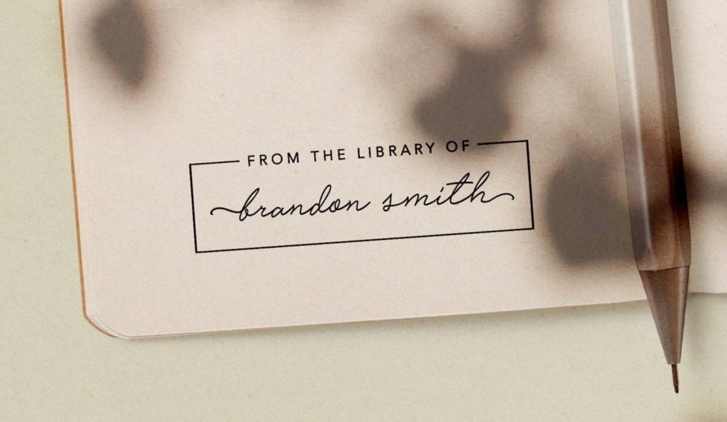 Personalized Book Stamp   Gifts for Book Lovers: The Ultimate Guide