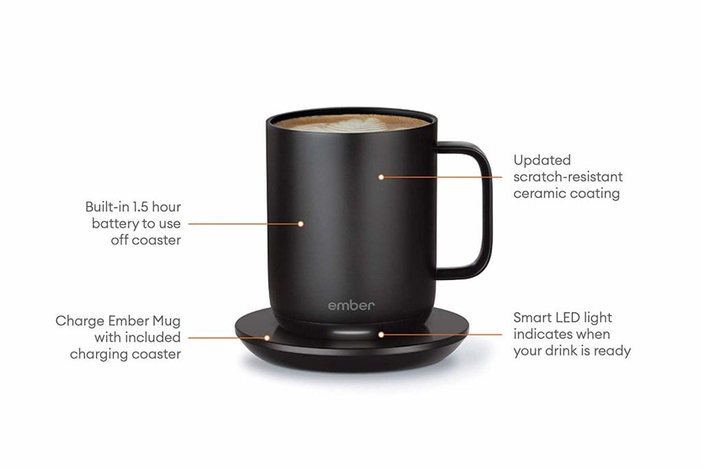 Temperature Controlled Smart Coffee Mug   Gifts for Book Lovers: The Ultimate Guide
