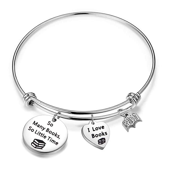 Book Charm Bracelet   Gifts for Book Lovers: The Ultimate Guide