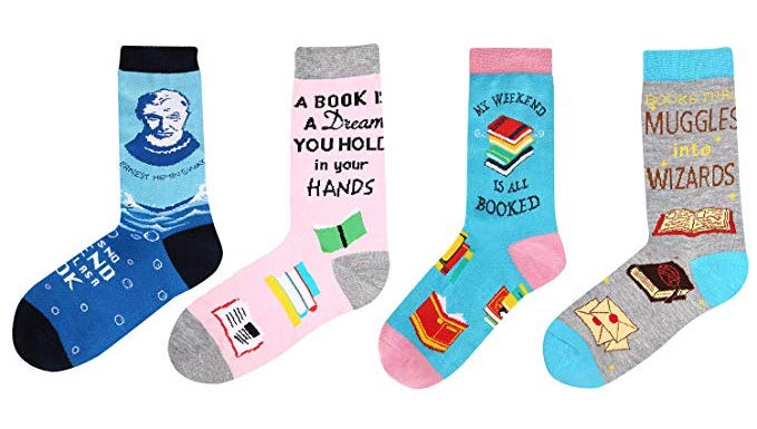 Novelty Book Socks   Gifts for Book Lovers: The Ultimate Guide