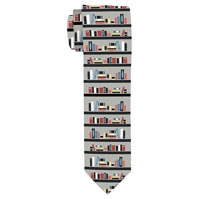 Bookish Necktie   Gifts for Book Lovers: The Ultimate Guide