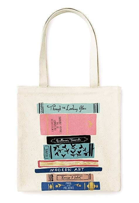 Kate Spade Canvas Tote Bag   Gifts for Book Lovers: The Ultimate Guide