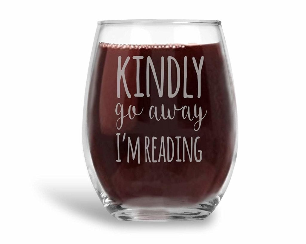 Fun Book Wine Glass   Gifts for Book Lovers: The Ultimate Guide