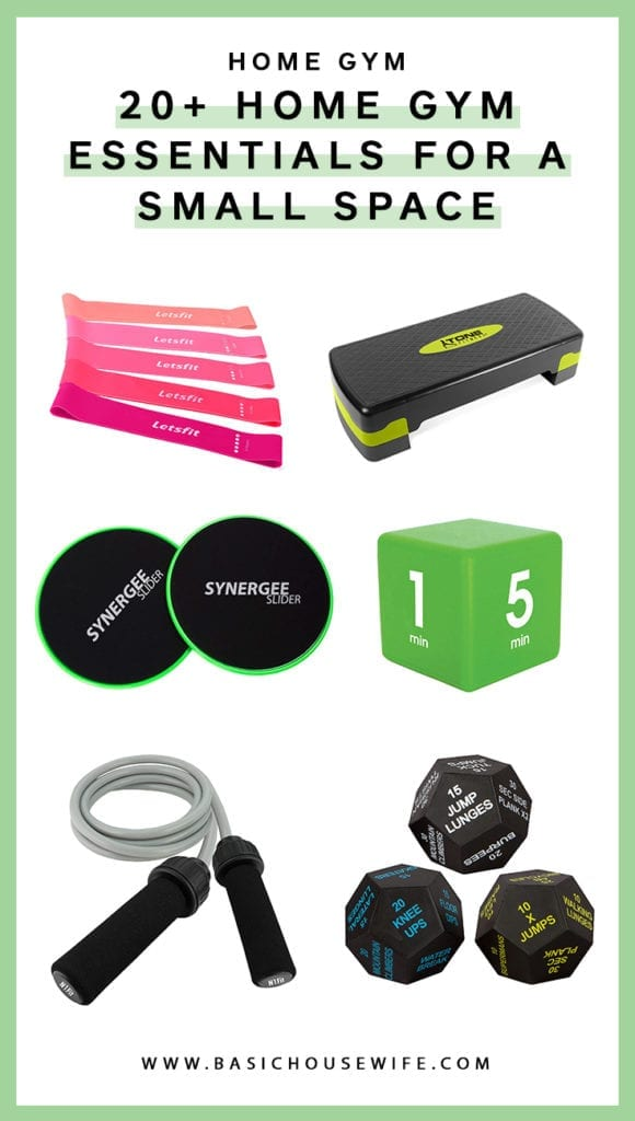 The Best Home Gym Essentials for a Small Space   The Basic Housewife