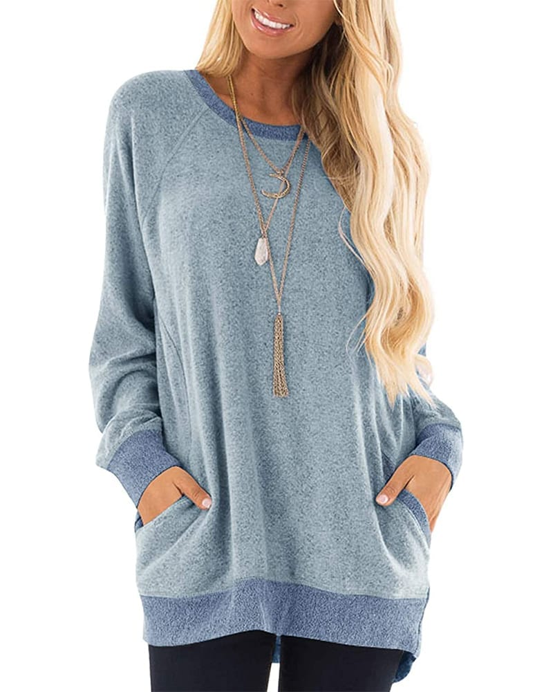 Long Sleeve Sweater with Pockets   Comfy Work From Home Wardrobe Essentials   The Basic Housewife