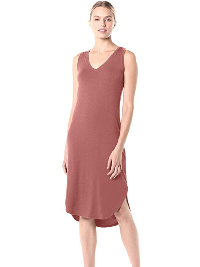Jersey Sleeveless Midi Dress   Must-Have Casual Summer Dresses Under $50