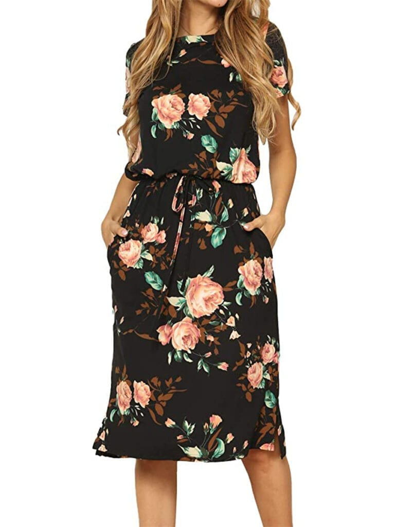 Floral Midi Dress   Must-Have Casual Summer Dresses Under $50