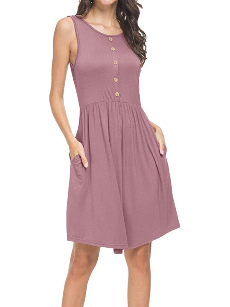 Sleeveless Swing Dress   Must-Have Casual Summer Dresses Under $50