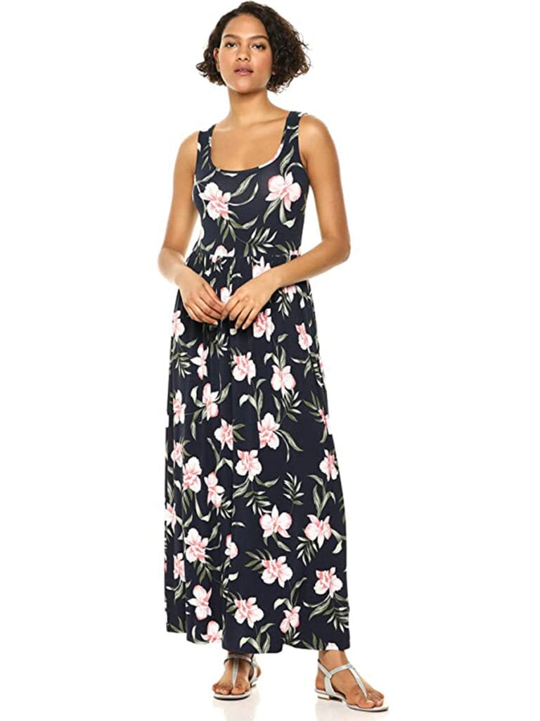 Floral Tank Maxi Dress   Must-Have Casual Summer Dresses Under $50