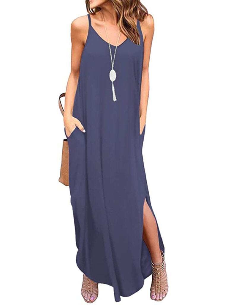Cami Maxi Dress with Pockets   Must-Have Casual Summer Dresses Under $50
