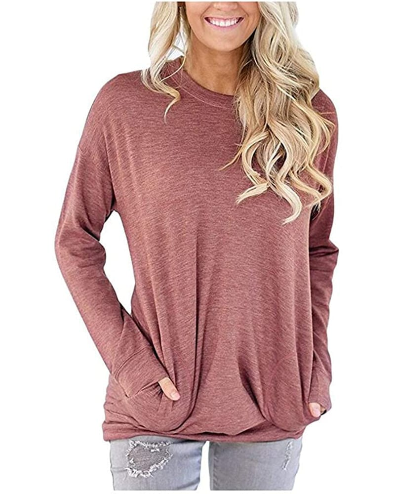 Long sleeve tunic with pockets Comfy Work From Home Wardrobe Essentials   The Basic Housewife
