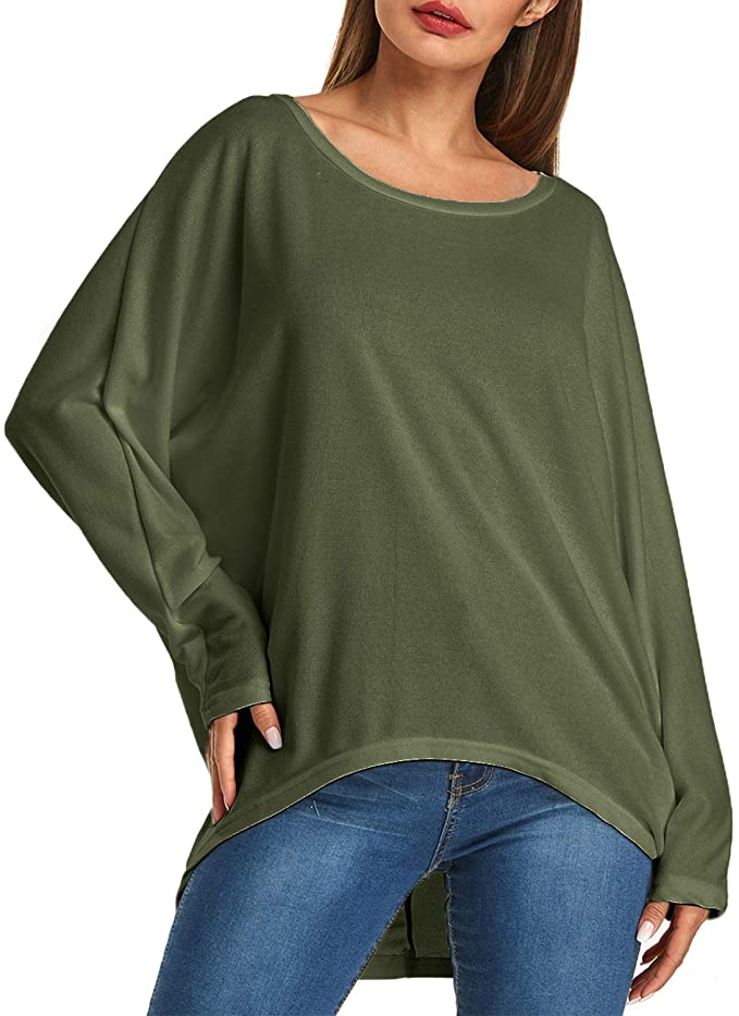 Oversized long sleeve pullover   Comfy Work From Home Wardrobe Essentials   The Basic Housewife