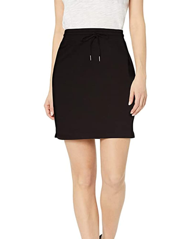 Supersoft terry cotton sweatshirt skirt   Comfy Work From Home Wardrobe Essentials   The Basic Housewife