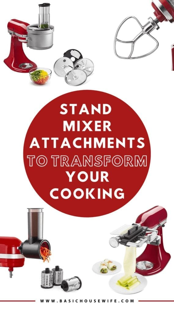 Must-Have KitchenAid Stand Mixer Attachments to Transform Your Cooking