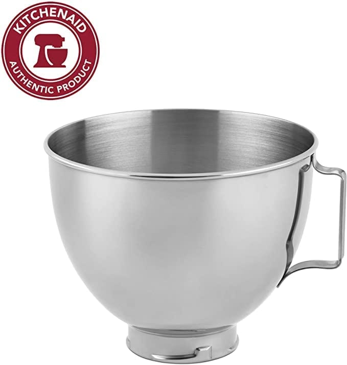 Stainless Steel Mixing Bowl Accessory for KitchenAid Stand Mixer