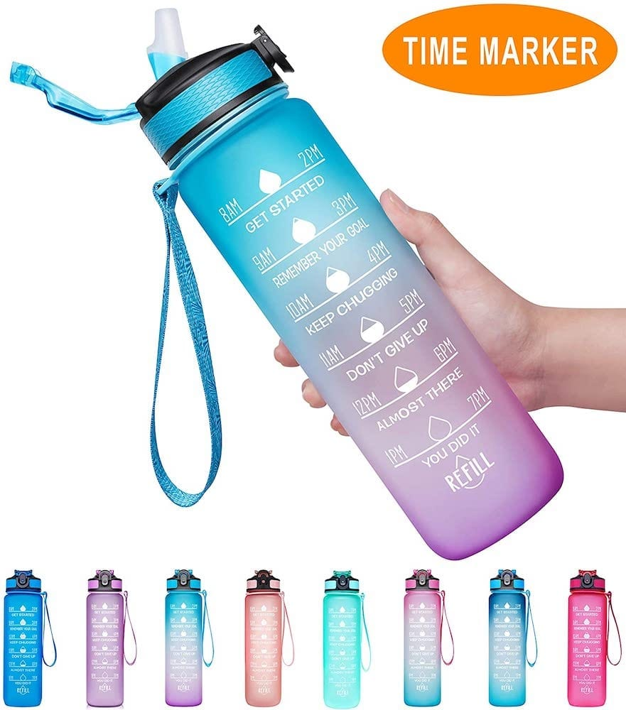 Intake-Tracking Water Bottle | Exercise Accessories To Get In Shape At Home