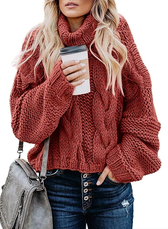 Chunky Knit Sweater   Fall Outfit Ideas: 30+ Must-Haves For Your Autumn Wardrobe