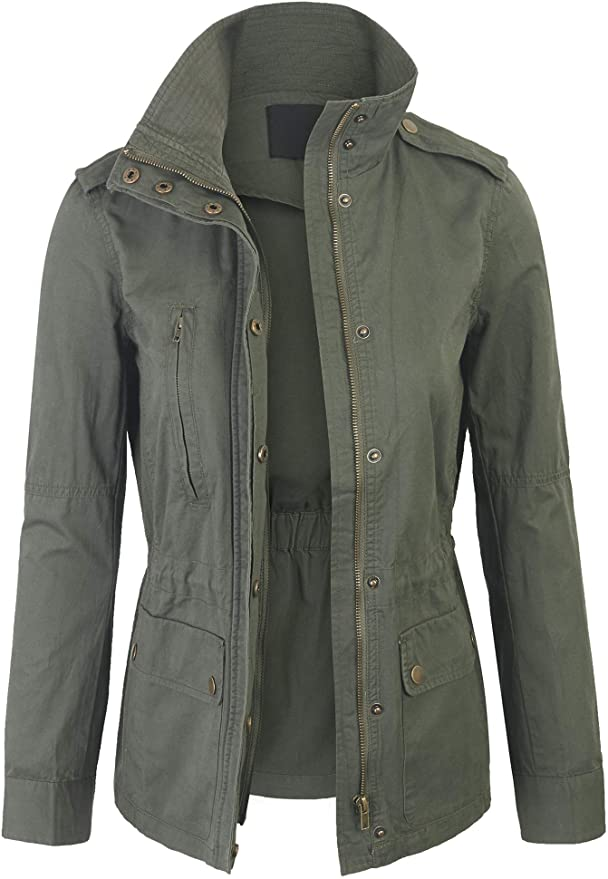 Lightweight Military Jacket   Fall Outfit Ideas: 30+ Must-Haves For Your Autumn Wardrobe