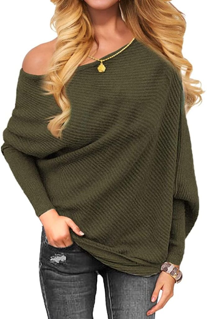 Off the Shoulder Knit Sweater   Fall Outfit Ideas: 30+ Must-Haves For Your Autumn Wardrobe
