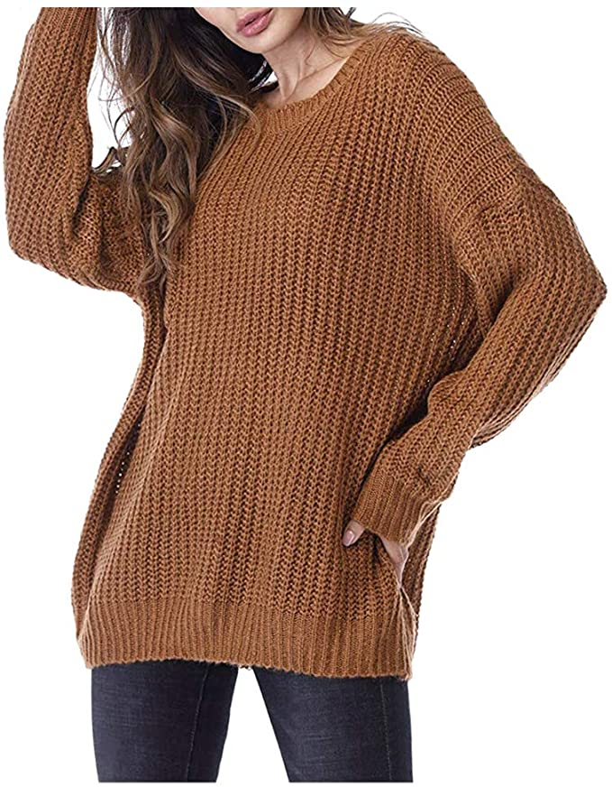 Oversized Knit Crewneck Sweater   Fall Outfit Ideas: 30+ Must-Haves For Your Autumn Wardrobe