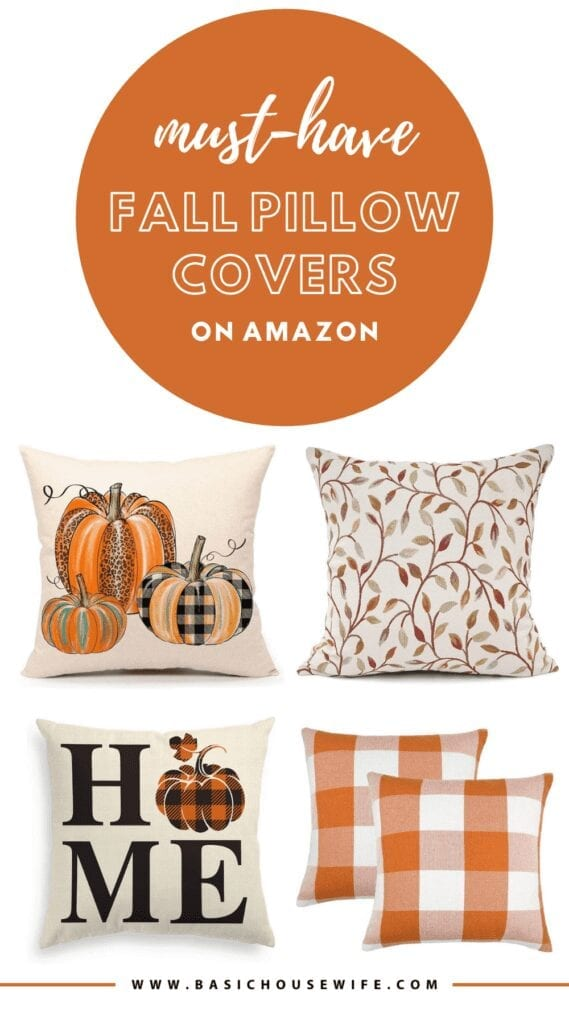 Must-Have Fall Pillow Covers