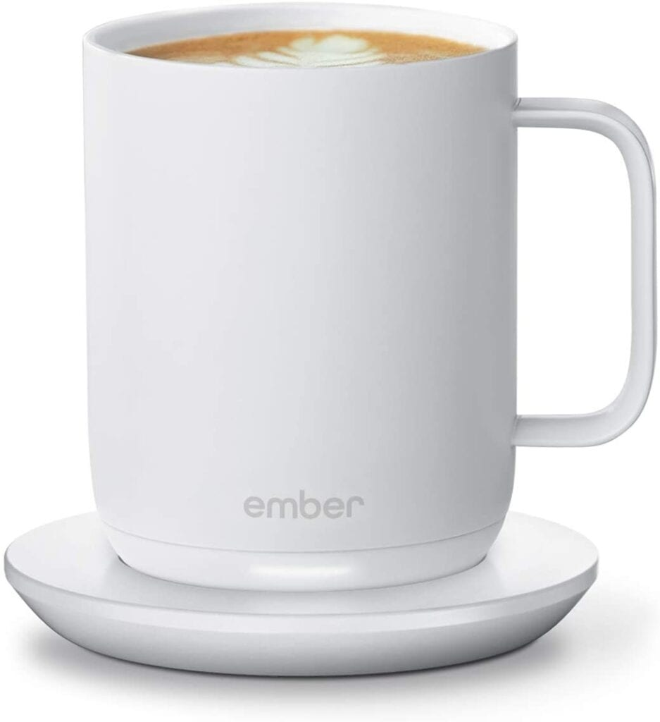 A Warming Ember Coffee Mug | Must-Have Work From Home Essentials