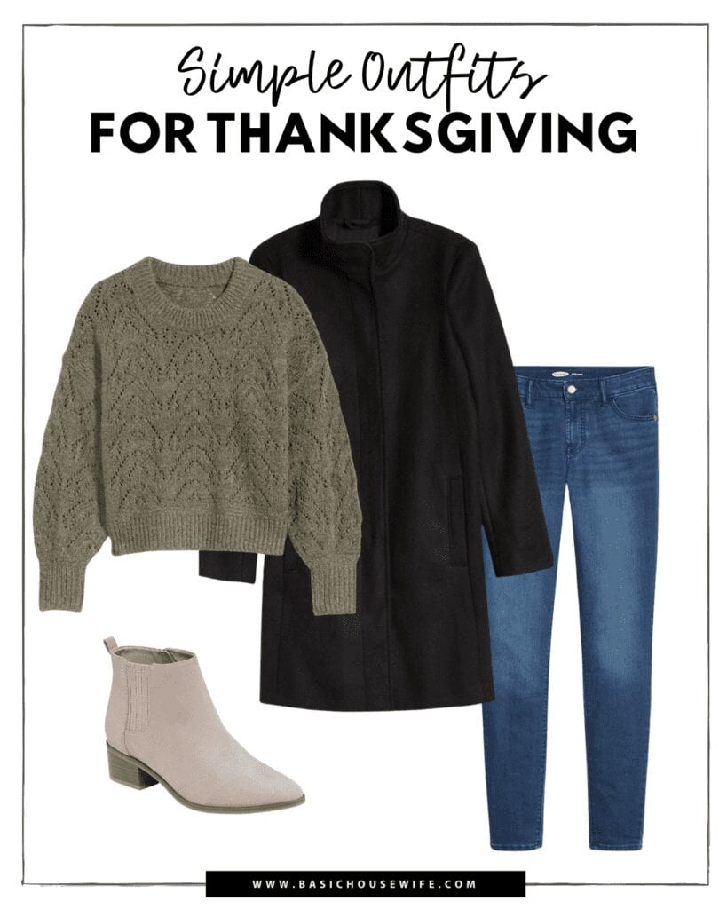 Casual Fall Outfit Inspiration for Thanksgiving