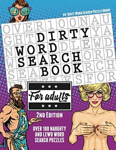 Dirty Word Search Book   Naughty Gift Ideas for Valentines Day